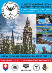 Masters ARENA SLOVAKIA SWIMMING MASTERS CUP 2019 v Košiciach