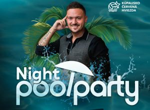 Robo Papp a Night pool party!