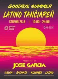 Pozývame Vás na poslednú letnú Latino tančiareň
